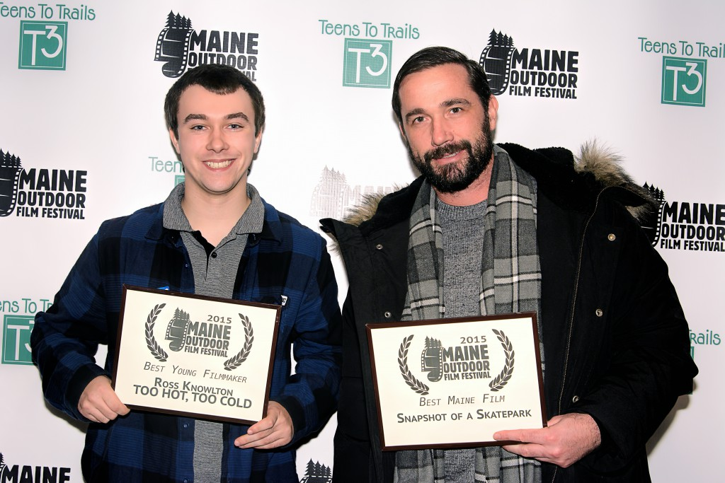 2015 Maine Outdoor Film Festival Winners: filmmakers Ross Knowlton and Tim Ouillete