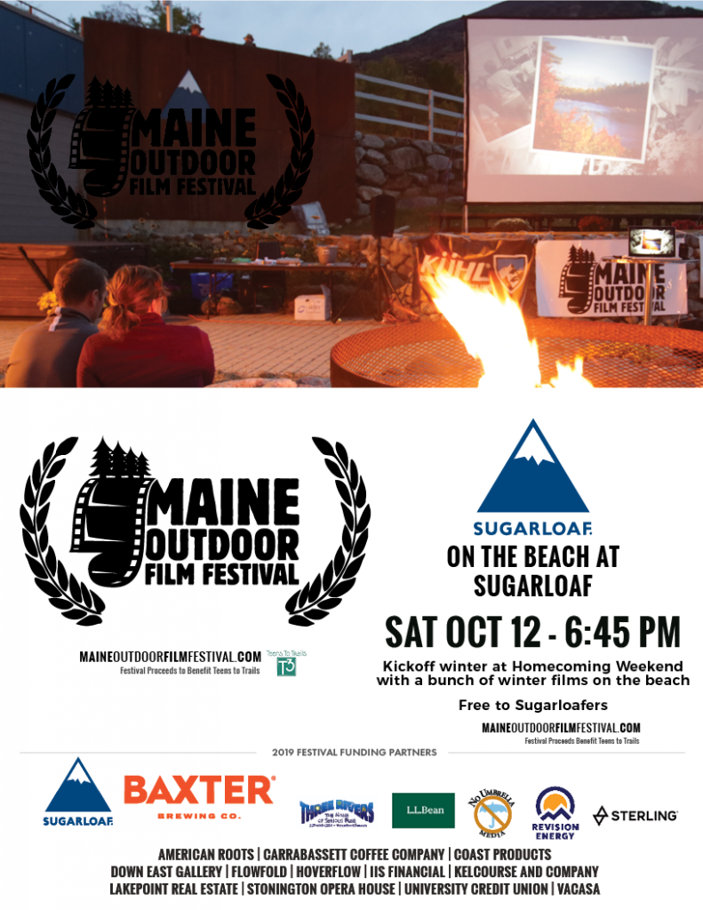 The Beach at Sugarloaf • MOFF - Maine Outdoor Film Festival